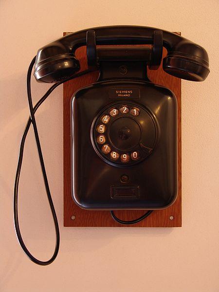Particolare Telefono Siemens